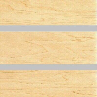 24 X 48 Par Of Slatwall Mdf Panel 3 Maple Melamine