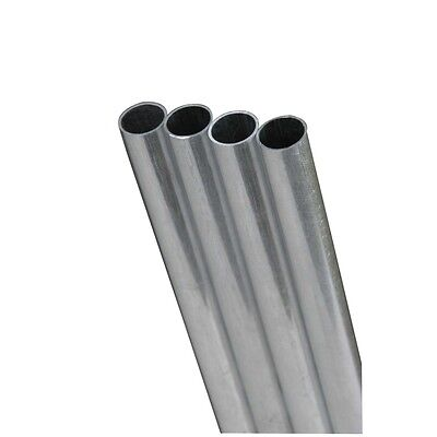 4 Ea Ks Metals 87119 38 Od X 12 .028 Wall Stainless Steel Tube