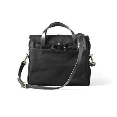 "Filson Rugged Twill Original Briefcase 70256 Laptop 15"" Bag Black 11070256"