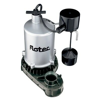Flotec Fpzt7450 Submersible High Output Sump Pump 34 Hp Vertical Switch
