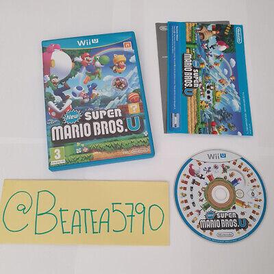 New Super Mario Bros U - Nintendo Wii U - FREE FAST 1ST CLASS POSTAGE!! VGC