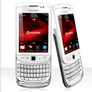 Blackberry Torch 9810 White/ Locked to rogers