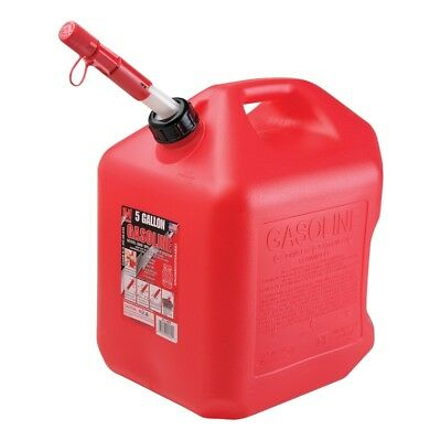 Midwest Can 5600 Spill Proof Gas Can 5 Gallon Red