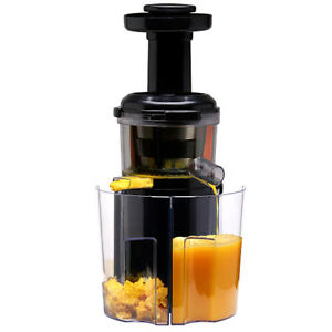 Cold Press Slow Fruit Juicer Juice Extractor Fountain : Slow Juicer Cold Press Juice Extractor Fruits vegetables ...