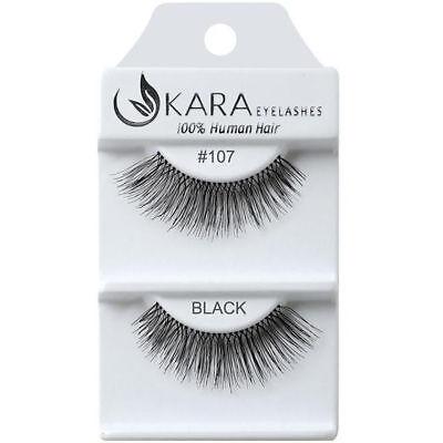 New Best KARA Human Hair Eyelashes Goods Under Set Free Gift