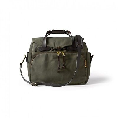 Filson Padded Computer Bag Laptop Briefcase Case  11070258 Otter Green 70258