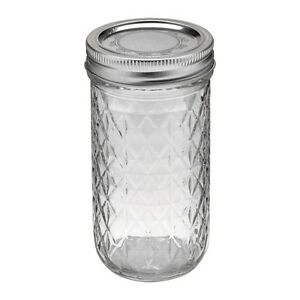 Tall Mason Jars (12 oz / 355 ml, regular mouth)