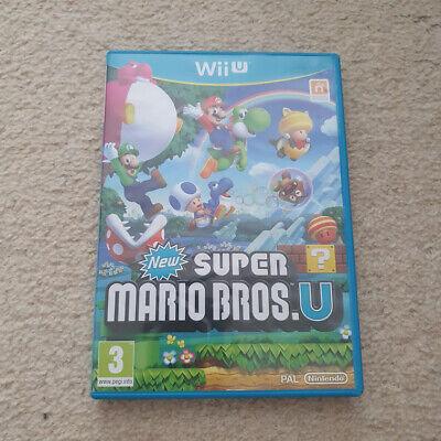 New Super Mario Bros U - Nintendo Wii U - FREE FAST 1ST CLASS POSTAGE