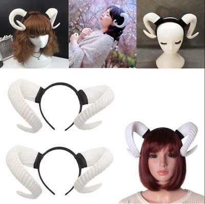 Elk Horn Sheep Headband Christmas Festival Party Head Accessories Halloween Prop (Xmas Headbands)