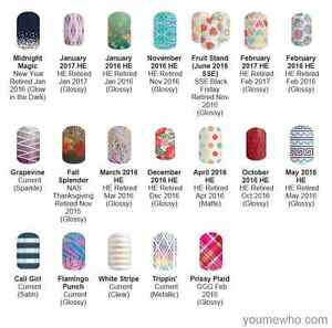 Jamberry Full Sheets