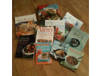 Assorted Cookery Books in Excellent Condition
