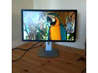 "Dell 24"" TV Monitor HD 1080P Gaming Work HDMI Perfect Screen RRP£200"