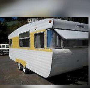 Wanted: Wanted- small caravan