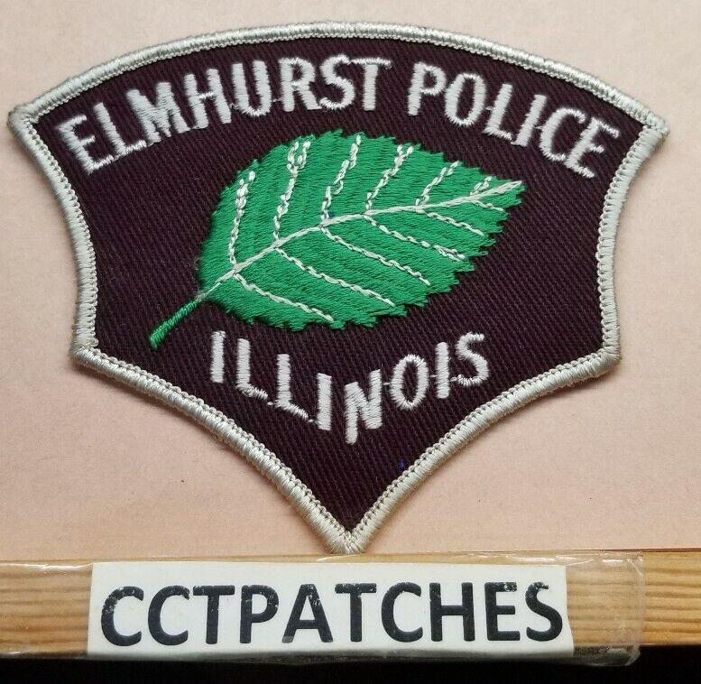 ELMHURST, ILLINOIS POLICE SHOULDER PATCH IL