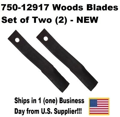 750-12917 Woods Blades-set Of Two New Us Supplier