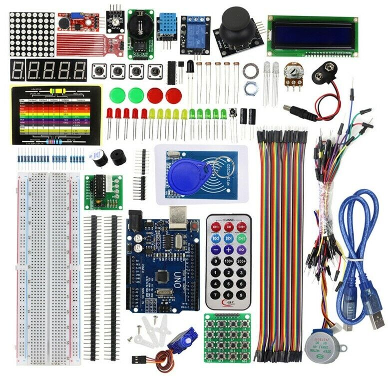 1 Set RFID Module Starter Kit for Arduino UNO R3 Upgraded version Learning Lot