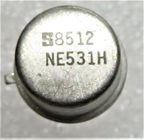 NE531H SIGNETICS  SINGLE AMP BIPOLAR OPERATIONAL AMPLIFIER