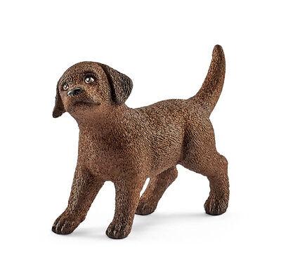 Schleich 13835 Chocolate Labrador Retriever Puppy Dog Lab Toy Model 2017 - (Chocolate Labrador Retriever Puppies)