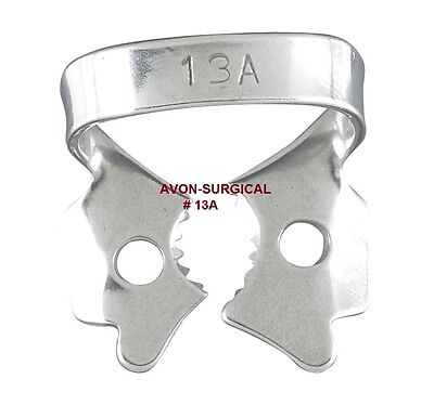 Endodontic Rubber Dam Clamps 13a Dental Instruments