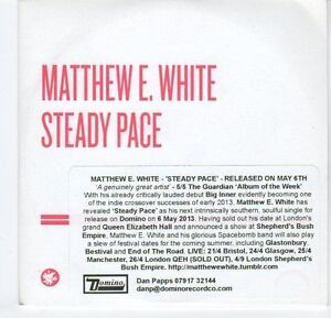 EA592-Matthew-E-White-Steady-Pace-2013-DJ-CD