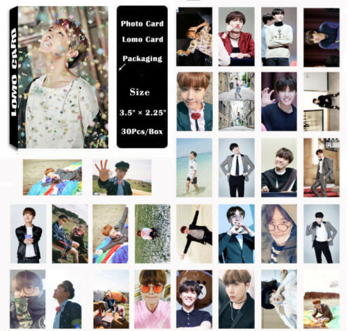 Lot of & KPOP BTS Bangtan Boys Personal Collective Poster Photo Card Lomo Cards