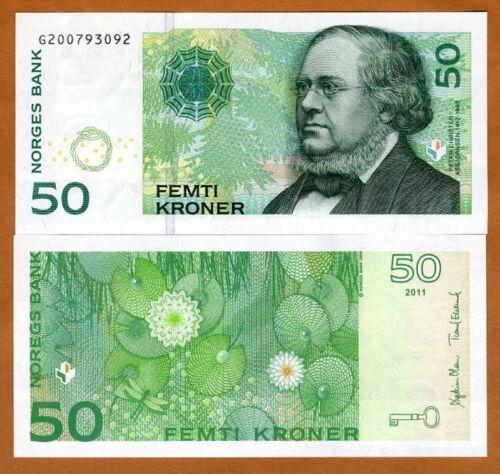 Norway, 50 Kroner, 2015, P-46d, UNC