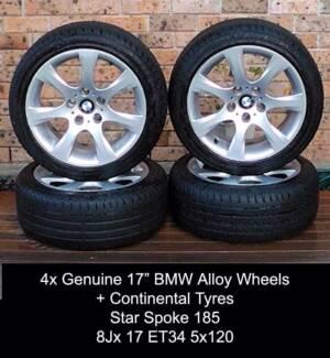 4x Genuine BMW Star Spoke 185 Sport Wheels * RRP $2800 Penrith Penrith Area Preview
