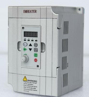 New 1.5kw Frequency Drive Inverter Converter Vfd Single Phase 220v240v 2hp 7a