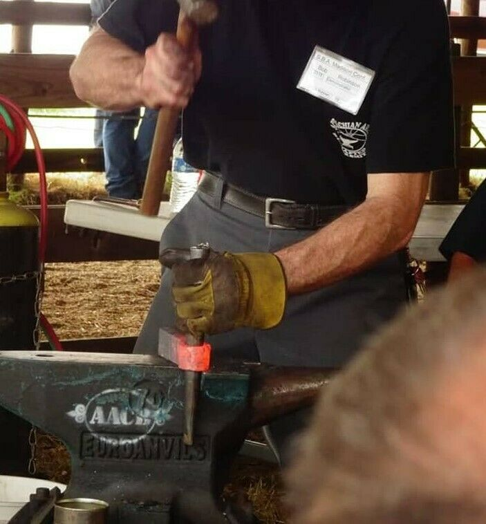 Ryan Johnson Tomahawk Eye Drift/Mandrel Blacksmith Tool