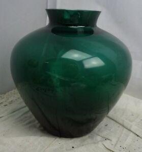 alte Glas Vase Entwurf Wilhelm Wagenfeld
