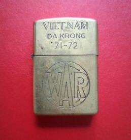 Vietnam War 71-72 original Zippo lighter