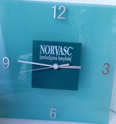 Norvasc Amlodipine Besylate Advertisement Clock 12 Hour