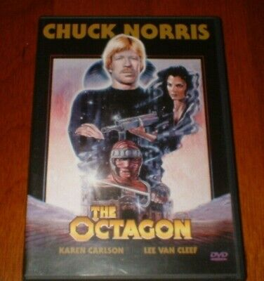 The Octagon DVD (Used) - Chuck Norris Action Movie