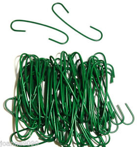 300 GREEN CHRISTMAS TREE ORNAMENT HANGERS HOOKS MAKE YOUR OWN DECORATIONS CRAFT