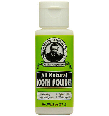 Uncle Harry's Natural Tooth Powder (2 oz)