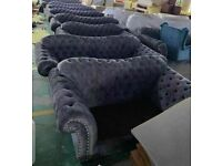 🍻New Huge Sale !!! Brand New CHESTERFIELD 3+2 Seater Sofa's on Discounted Price !! Book Now🍻