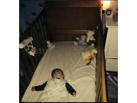 Kiddicare Cot Bed + Mattress