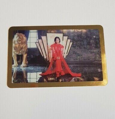 Twice Jeongyeon Feel Special MV Set Gold Border Photocard Gold Border Photo Card
