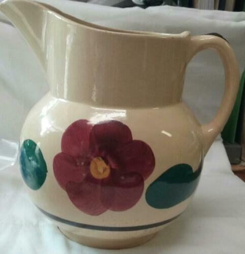 APPLE BLOSSOM PITCHER 8""