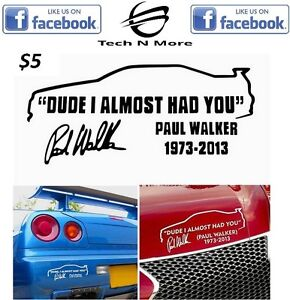 Dude I Almost Had You Stickers (2 Colors)