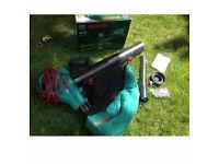 Bosch als30 3000 watt boxed excellent condition hardly used winter garden vacuum & blower