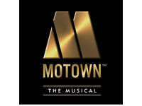 Motown the musical London show 26th May x2 tickets