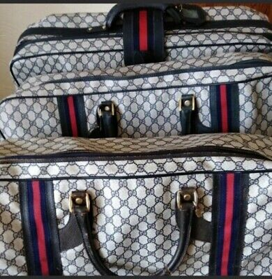 Vintage Gucci Luggage Set