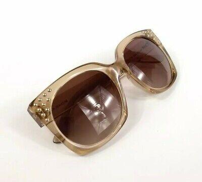 Michael Kors Destin Sunglasses Light Crystal Tan Brown Gradient MK2067 New Crystal Brown Gradient Sunglasses