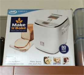As new, used once 'Make n Bake' bread maker.
