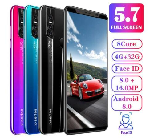 Android Phone - X27/X27 Plus Unlocked Smart Phone 5.0/5.7'' Android 8.0 HD Dual SIM Mobile