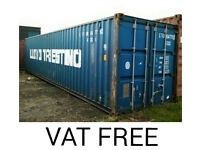 40FT Shipping Container Vat Free!!!