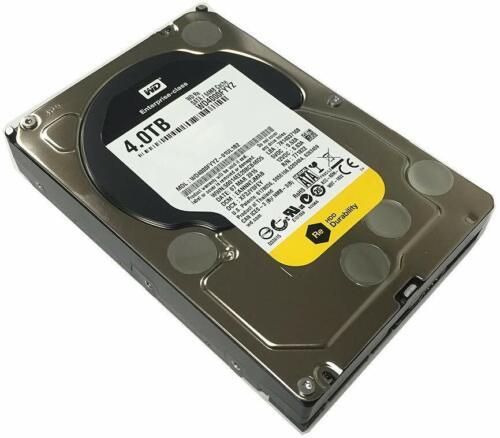 """Western Digital WD4000FYYZ-01UL1B0 4TB SATA/64MB Cache 3.5"""" Hard Drive"""