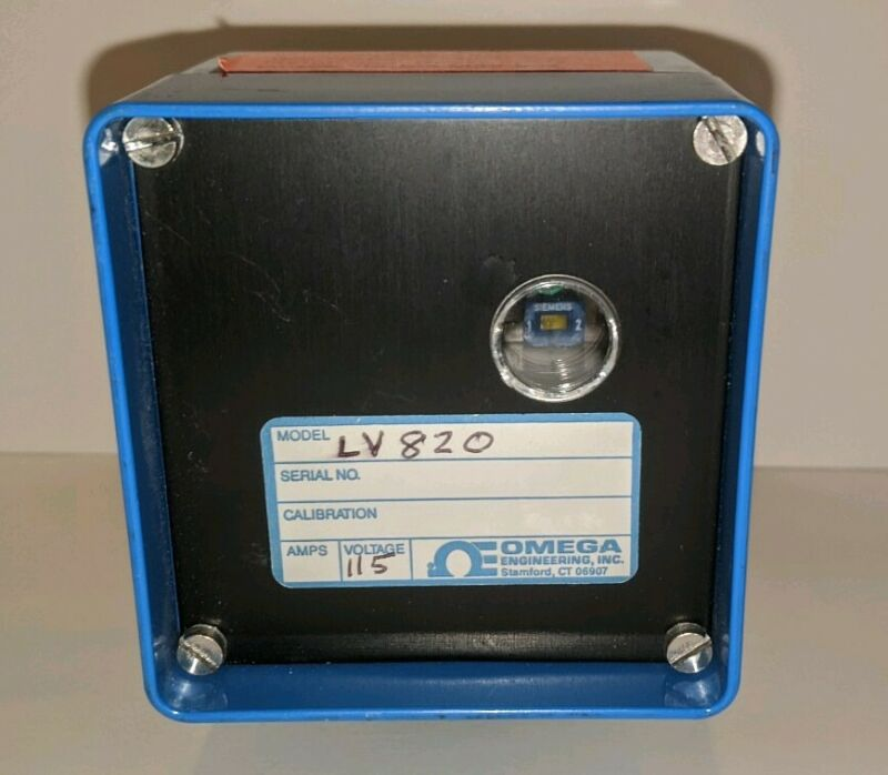 Omega LV820 Single Station Electronic Level Switch **FREE SHIPPING**