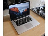 "(Grade A+) Retina MacBook Pro 15"" | 3.6GHz | 512GB SSD | Adobe Cs6, Final Cut, Logic Pro, Office"